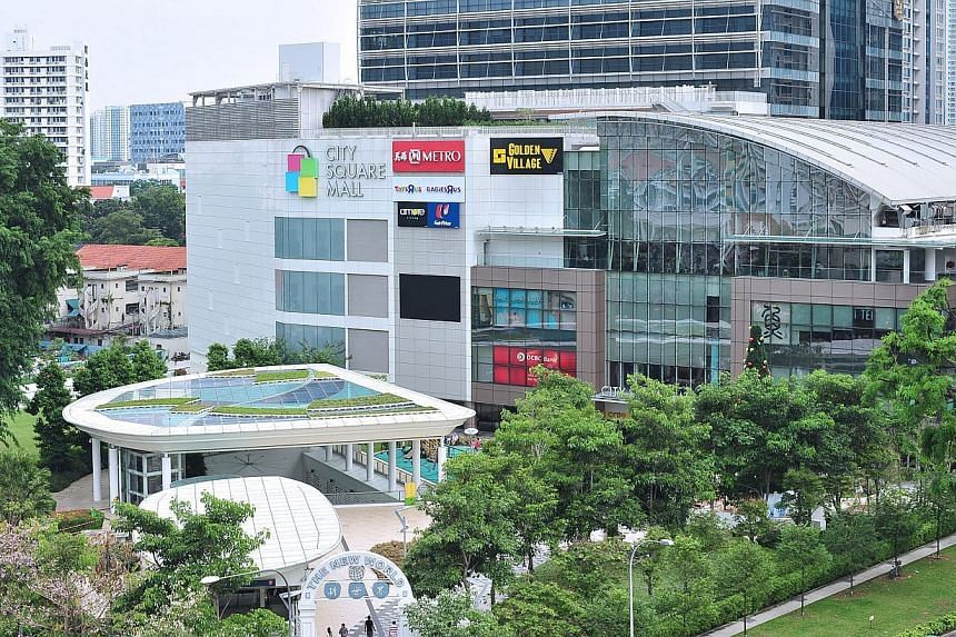 City Square Mall along Kitchener Road is Singapore's first eco-mall. It attained the Building & Construction Authority's Green Mark Platinum Award in 2007. -- PHOTO:HONG LEONG GROUP