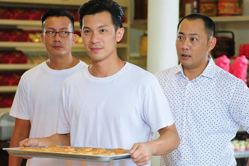 Shaun Chen's character (centre, with Chen Hanwei, far left, and Yao Wenlong).