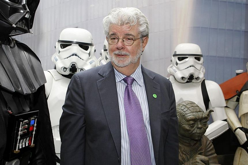 George Lucas, the man behind the mega-successful interplanetary saga Star Wars, may well have retired, but his spirit looms large at the famous Skywalker Ranch. -- PHOTO: ST FILE