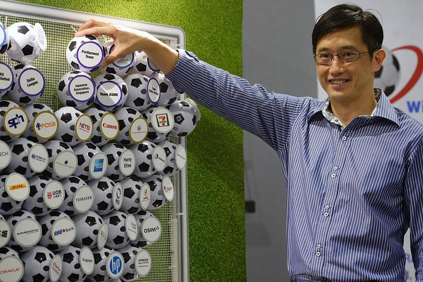 Minister of State for Trade and Industry Teo Ser Luck has announced that six more corporations have joined Sport Singapore's Sports Excellence (Spex) Business Network. -- PHOTO: ST FILE
