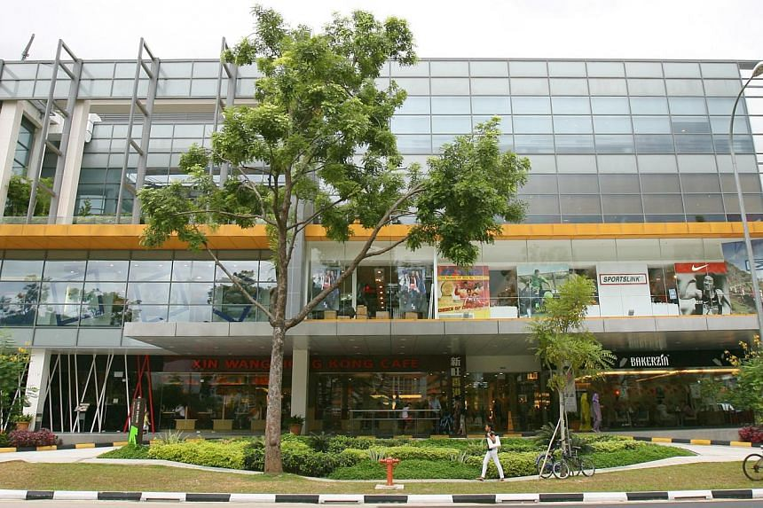 The new wing of Northpoint Mall. -- PHOTO: ONG WEE JIN/SPH