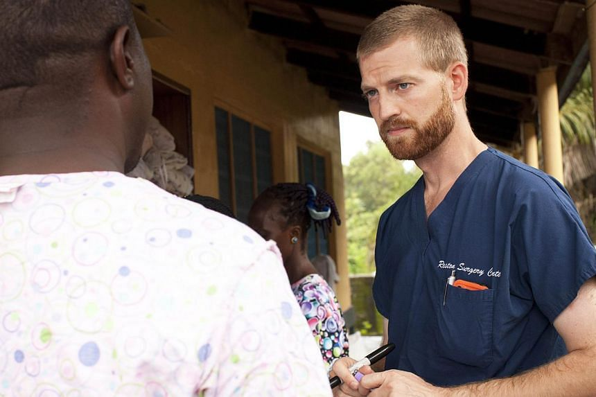 """This undated handout photo obtained July 30, 2014 courtesy of Samaritan's Purse shows Dr. Kent Brantly near Monrovia, Liberia. The American doctor who has contracted the dangerous Ebola virus in Liberia is """"weak and quite ill,"""" a colleague of his tol"""