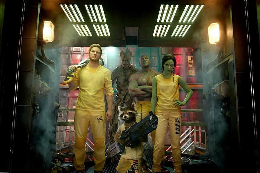 Movie Still: Guardians Of The Galaxy. -- PHOTO:WALT DISNEY PICTURES