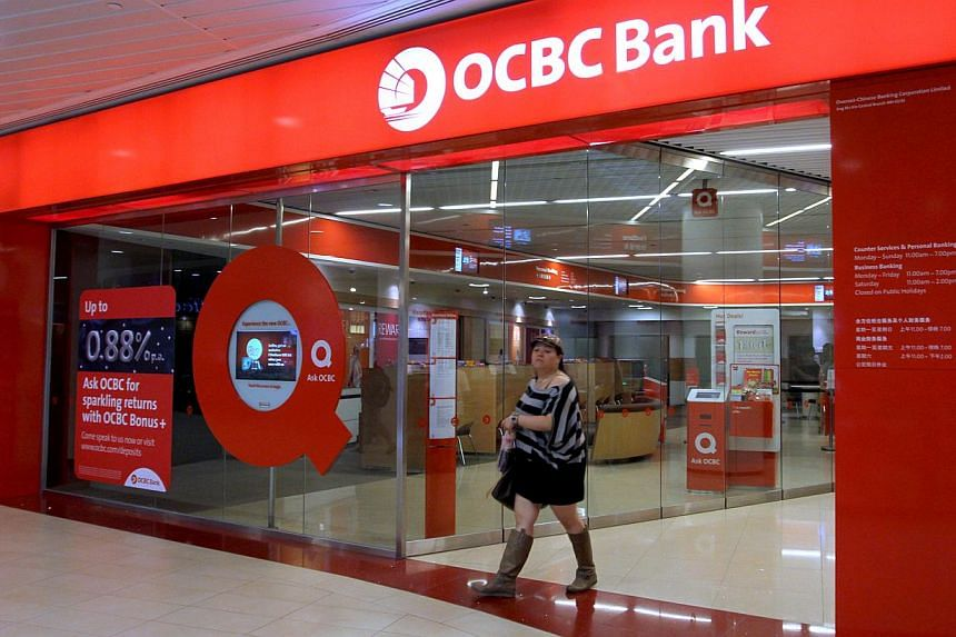 OCBC Bank has posted a 54 per cent rise in its second-quarter net profit from the same period a year ago to $921 million. -- PHOTO: ST FILE