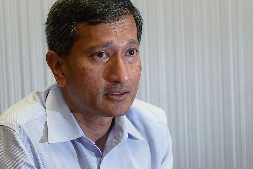 Environment and Water Resources Minister Vivian Balakrishnan. -- PHOTO: ST FILE