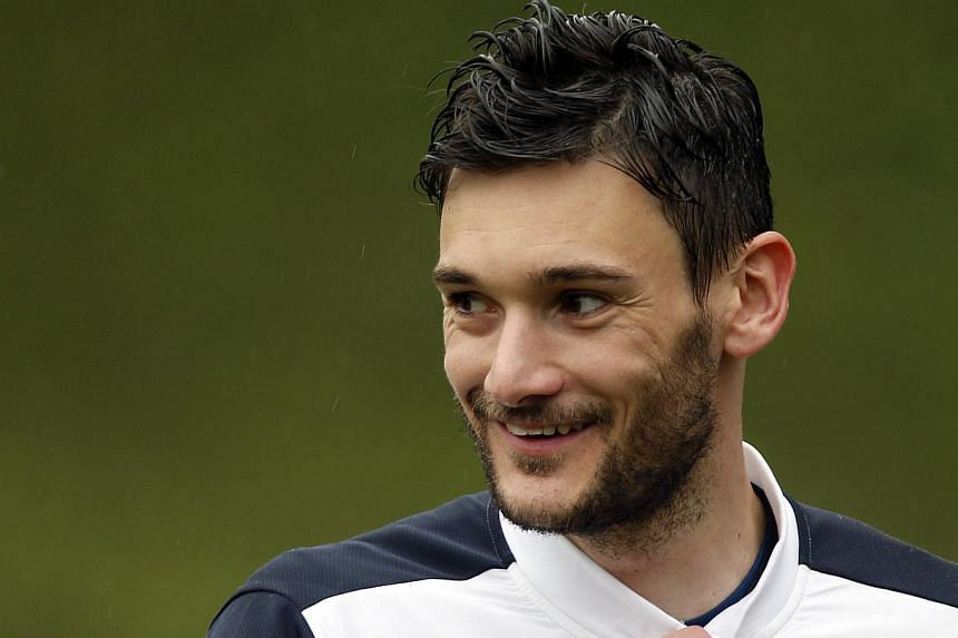 Goalkeeper Hugo Lloris attending a training session in France in May ahead of this year's World Cup. Concussion became a hot topic last season after the Tottenham Hotspur goalkeeper continued playing after appearing to momentarily lose conscious