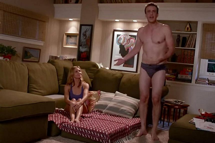 Jay (Jason Segel) and Annie (Cameron Diaz) tape a three-hour romp to spice up their sex lives, but the footage is accidentally uploaded onto the Internet. -- PHOTO: YOUTUBE