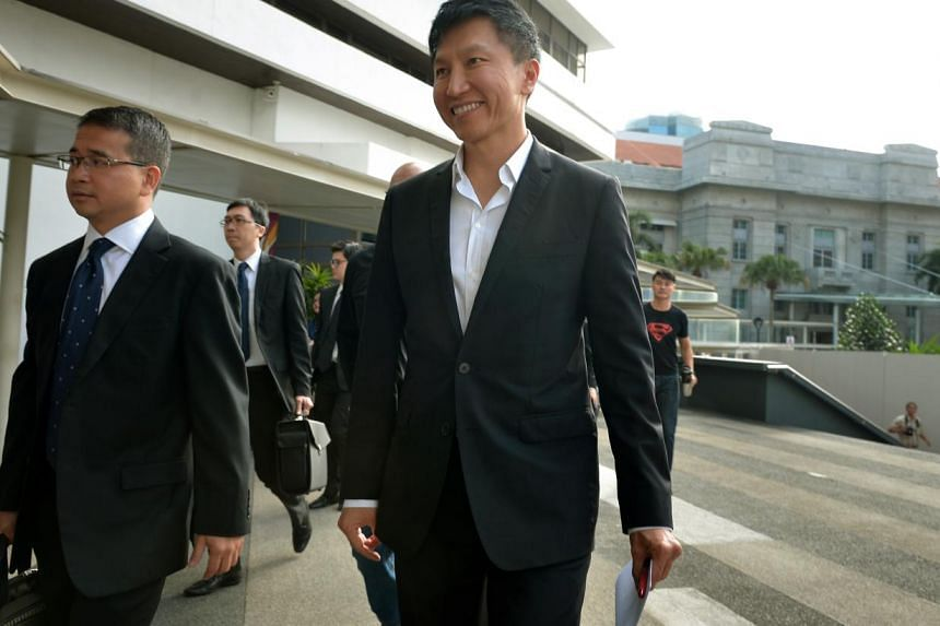 City Harvest Church founder Kong Hee, will be on the stand today. -- PHOTO: ST FILE