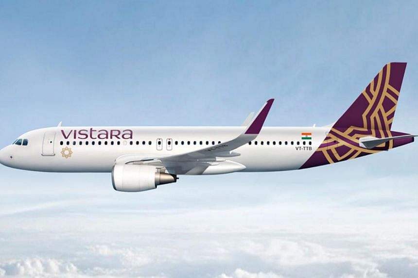 Tata-SIA Airlines Limited (TSAL) has announced that the much-anticipated brand name of its new airline will be Vistara. -- PHOTO: SIA