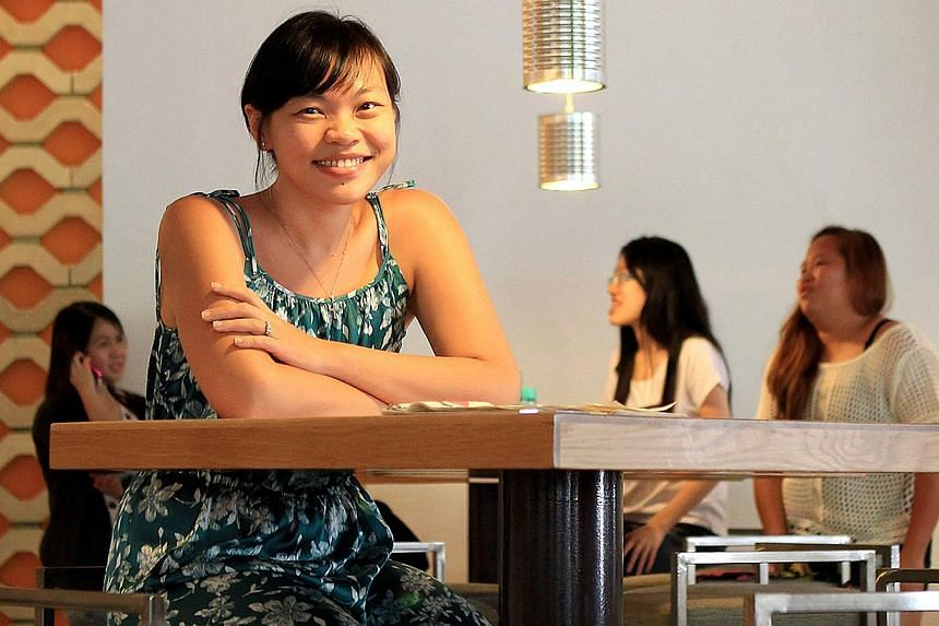 Ms Kuik Shiao-Yin is the co-founder and creative director of The Thought Collective, a social enterprise. -- PHOTO: ST FILE