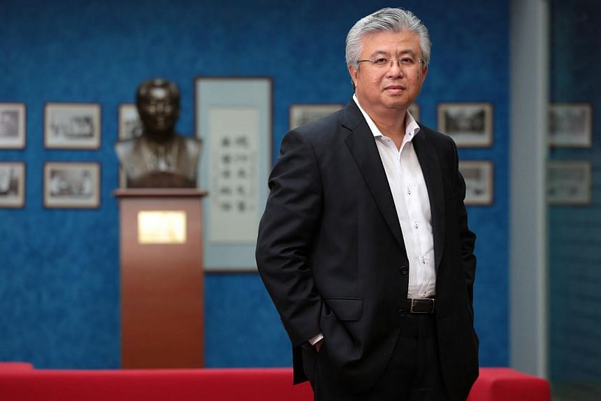 Singapore Chinese Chamber of Commerce and Industry (SCCCI) president Thomas Chua. -- PHOTO: ST FILE