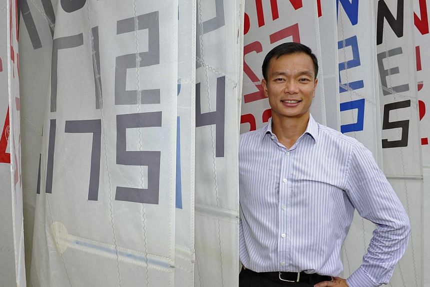 Dr Benedict Tan, 43, president of the Singapore Sailing Federation. -- PHOTO: ST FILE