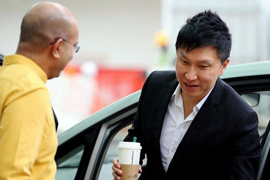 City Harvest Church founder Kong Hee said in court on Tuesday, Aug 12, 2014, that he had done his best to make sure the church could recover money it had invested in his wife Ho Yeow Sun's music career. -- ST PHOTO:WONG KWAI CHOW