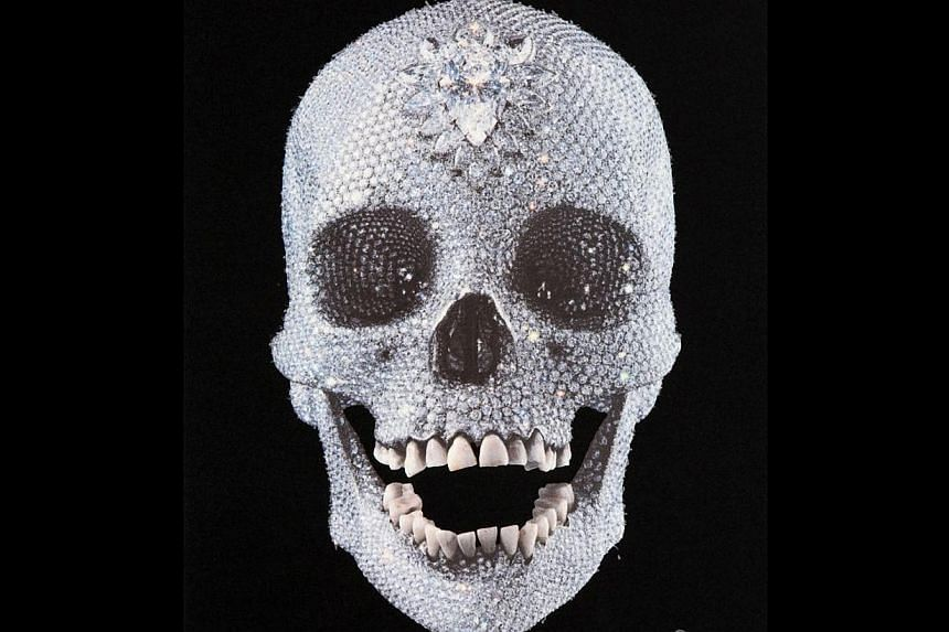 Singapore director Ong Keng Sen drew inspiration from British artist Damien Hirst's controversial work, a diamond skull titled For The Love Of God (above), for his opera Facing Goya. -- PHOTO: FIUMANO FINE ART