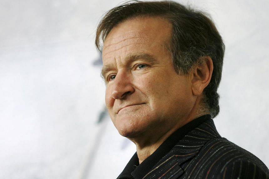 US actor Robin Williams poses for photographers during a photocall in Rome in this file picture taken on Nov 15, 2005. -- PHOTO: REUTERS