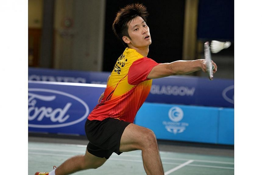 Singapore shuttler Derek Wong at the 2014 Commonwealth Games in Glasgow, Scotland. Wong and the Under-23 football team were given the green light by the Singapore National Olympic Council to take part in the Asian Games in Incheon, South Korea, next