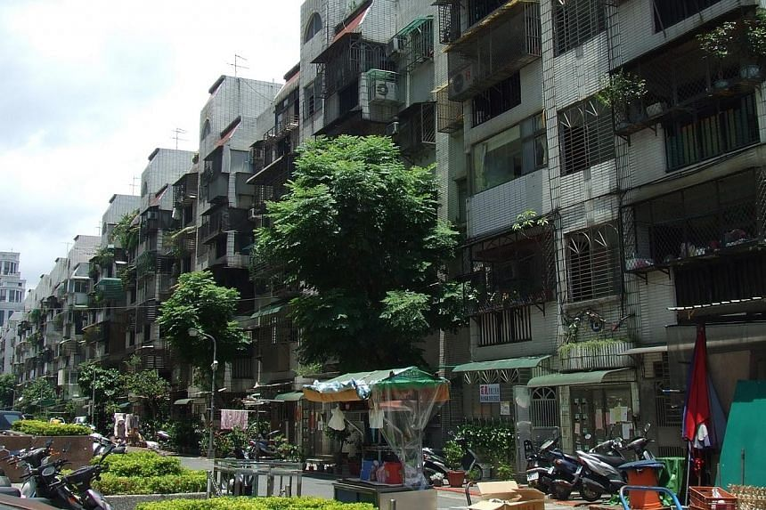 A view of Taiwanese apartments. Mainland Chinese are skirting rules aimed at limiting their purchases of property in Taiwan, stirring anger among local home buyers and fuelling worries over Beijing's creeping influence over an island that it views as