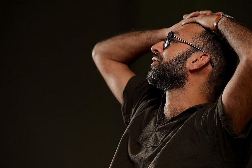 This weekend, Indian performance artist Nikhil Chopra embarks on his sprawling 50-hour piece titled Give Me Your Blood And I Will Give You Freedom, as part of the Singapore International Festival of Arts. -- ST PHOTO: DESMOND WEE