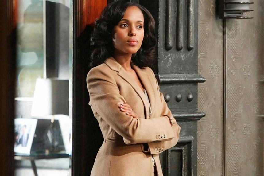 Diverse characters: Shonda Rhimes' shows Grey's Anatomy, Private Practice and Scandal, starring Kerry Washington (above). -- PHOTO: STARHUB