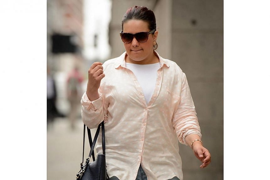 Amal El-Wahabi arrives at the Old Bailey in central London, England on August 8, 2014. She was convicted on Wednesday of arranging to smuggle cash to fighters in Syria, becoming the first Briton to be convicted under terror laws of funding jihadist f
