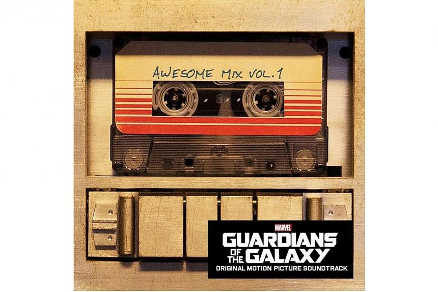Awesome Mix Vol. 1, Guardians Of The Galaxy soundtrack. -- PHOTO: WALT DISNEY PICTURES