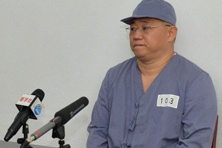 Kenneth Bae, a Korean-American Christian missionary seen here in a January 20 2014 file photo taken by Kyodo, was visited at the labour camp in which he is being held on Monday by a representative from Sweden, which handles US interests in the c