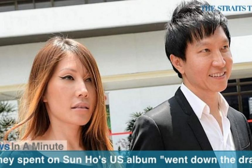 In today's News In A Minute, we look at City Harvest Church founder Kong Hee saying in court that all the years of work and money put into Sun Ho's American album went down the drain when she fell critically ill and when investigations into the churc