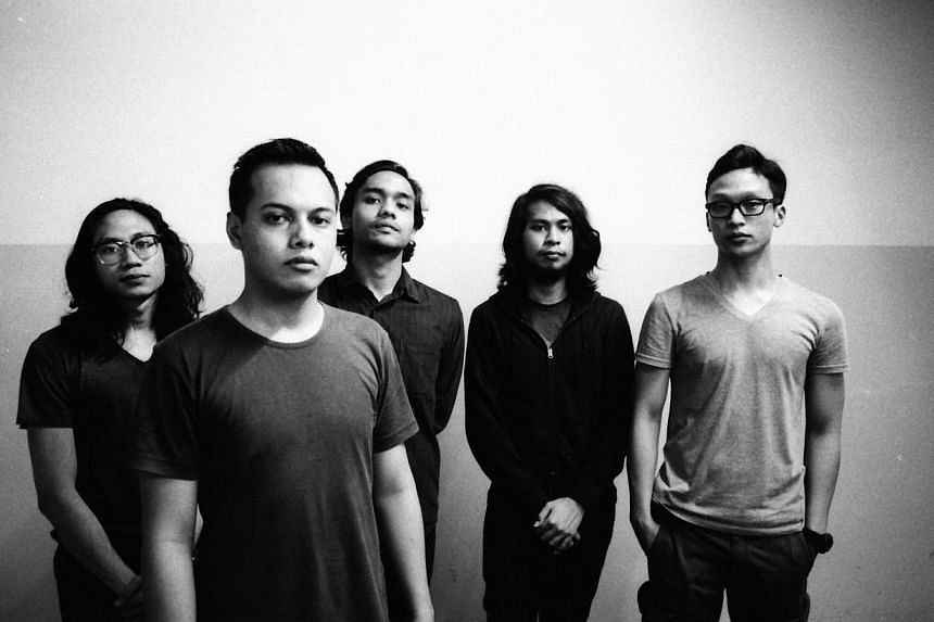 Local post-rock band Amateur Takes Control. -- PHOTO: ESPLANADE