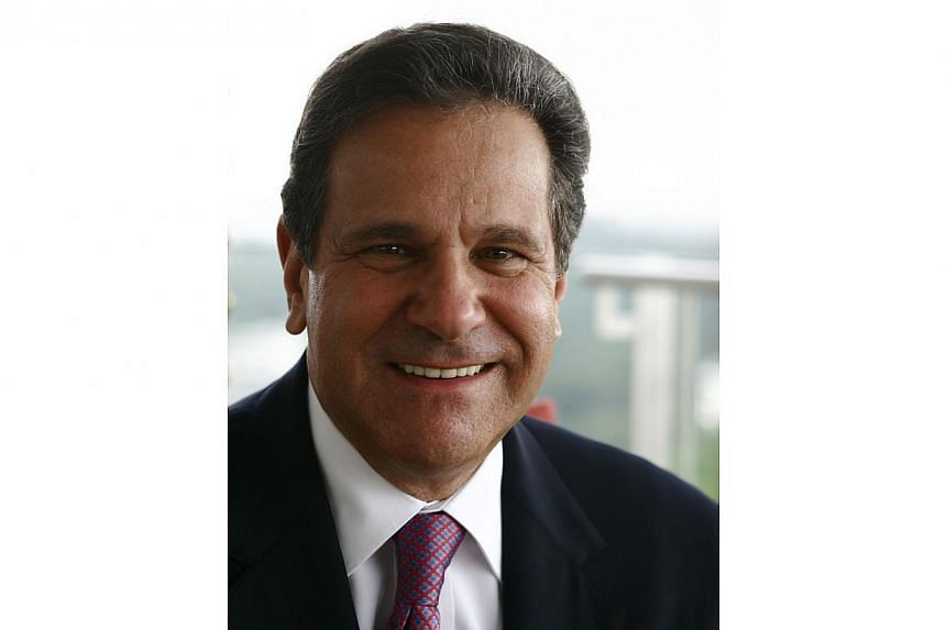 The former head of Zurich Insurance and lead director of Goldman Sachs James Schiro has died at the age of 68. -- PHOTO: ST FILE