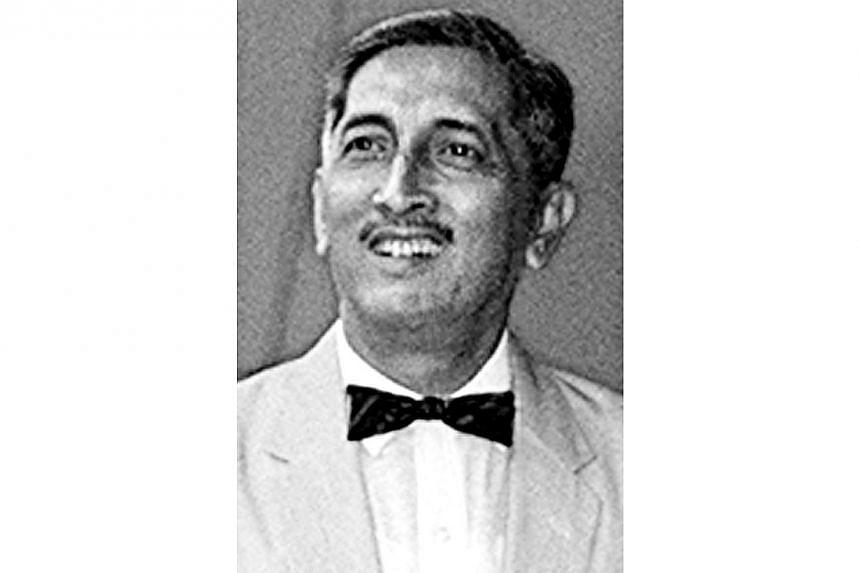 Mr Yusof Ishak in a photo taken in 1964. -- PHOTO: ST FILE