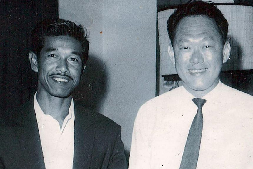 Mr Rahmat Yusak used to drive former PM Lee Kuan Yew to his constituency visits.