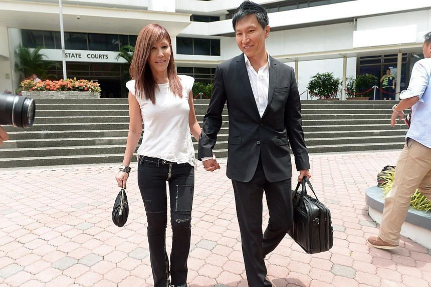 City Harvest Church founder Kong Hee and his wife Ho Yeow Sun outside the State Courts on 8 April 2014. The music success of City Harvest pastor-singer Ho Yeow Sun had been grossly exaggerated, former church treasurer Chew Eng Han said in court