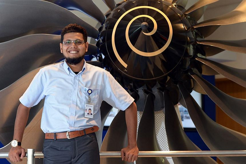 Mr Muhammad Munir Ahmad, 29, is currently taking night classes to complete a degree. He started out as a trainee technician at Rolls-Royce after graduating from Temasek Polytechnic. Ms Rachel Aw, 28, is now a franchise operations manager with the Les