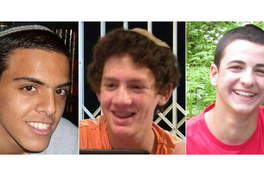 A top Hamas official said members of his militant group kidnapped three Israeli teenagers - (from left)Eyal Yifrach, Naftali Fraenkel andGilad Shaer -whose deaths in June provoked a spiral of violence that led to the war in Gaza, th