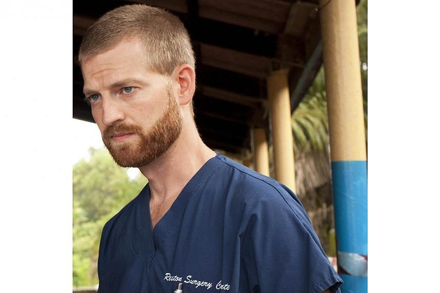 This undated handout photo obtained on July 30, 2014, courtesy of Samaritan's Purse shows Dr Kent Brantly near Monrovia, Liberia.The American doctor, who contracted Ebola treating victims of the deadly virus in Liberia, has been released from a