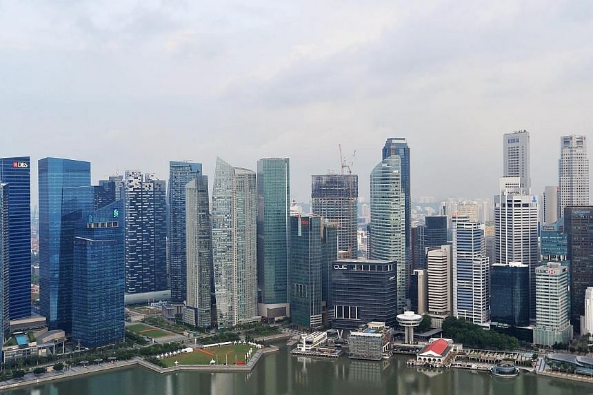 Singapore's core inflation rate in July probably rose to its highest in almost two years, a Reuters poll showed on Thursday, reflecting wage cost pressures from a tight labour market. -- PHOTO: ST FILE