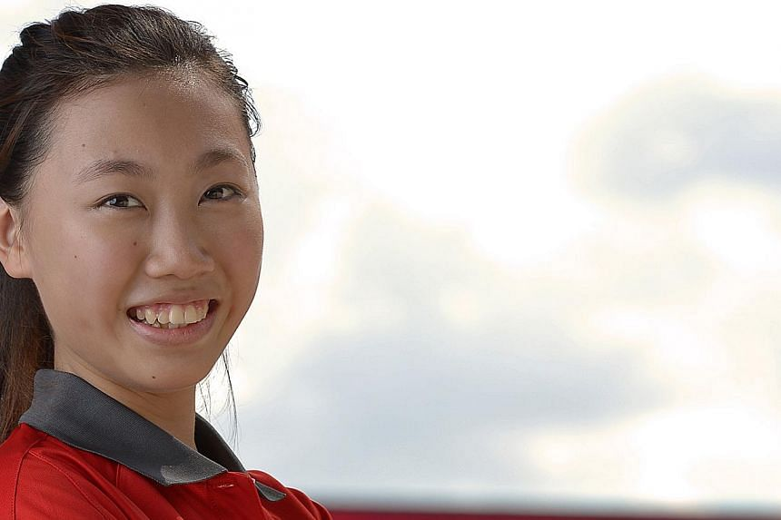 Singapore shooter Teh Xiu Yi has won the Republic's second medal at the Nanjing Youth Olympic Games (YOG), teaming up with Egypt's Ahmed Mohamed to take silver in the mixed team 10m air pistol event on Thursday. -- PHOTO: ST FILE