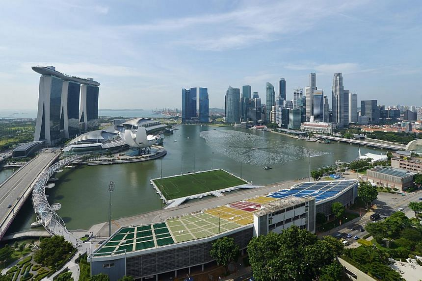 Singapore is the fourth most liveable city in Asia, according to the latest such ranking by The Economist magazine. -- ST PHOTO: ALPHONSUS CHERN