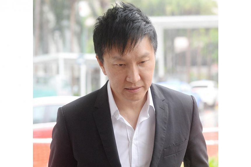 City Harvest founderKong Hee arriving at the State Court on Tuesday, Aug 26, 2014. Kong admitted on Tuesday that, as far as he knew, there was no record of the church's management board approving a $13 million investment into Xtron Productions,