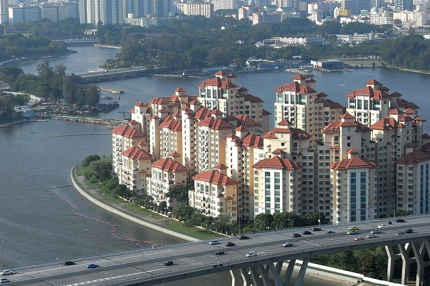 Pebble Bay condominium at Tanjong Rhu, Singapore.Investor sentiments rose in the second quarter this year to reach their highest point since the start of 2013, buoyed by improved confidence in property investments, a survey by insurer Manulife