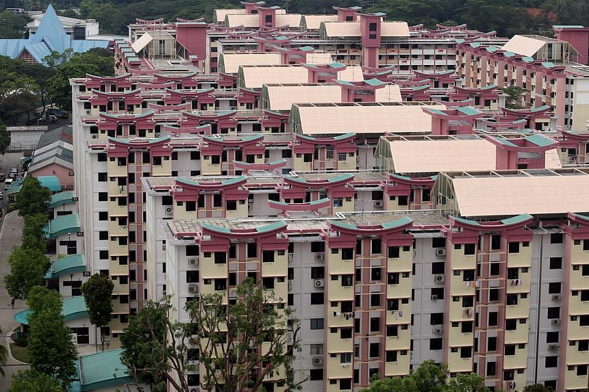 HDB flats in Tanglin Halt (above) are attractive because their owners will be offered the chance to buy brand new units in Dawson estate in the prime Queenstown area under the Selective En bloc Redevelopment Scheme.