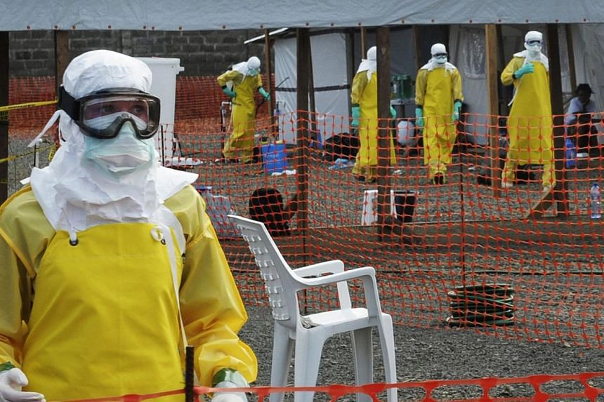 """Mr Shane Oliver, investment strategy head and chief economist at AMP Capital, said there was a 90 per cent chance that the Ebola outbreak would be contained in Africa as CIMB analyst Gary Ng kept his """"overweight"""" call on Singapore's health-care secto"""