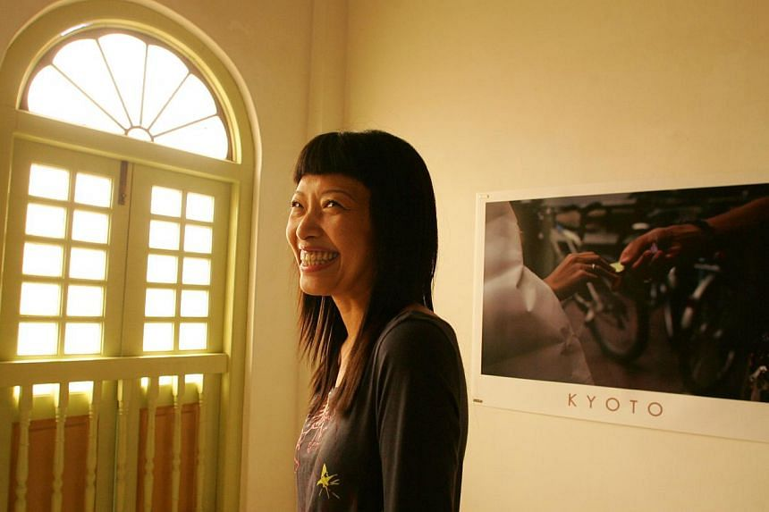 Multi-disciplinary artist Juliana Yasin died on Wednesday at noon after a long battle with cancer. -- PHOTO: ST FILE