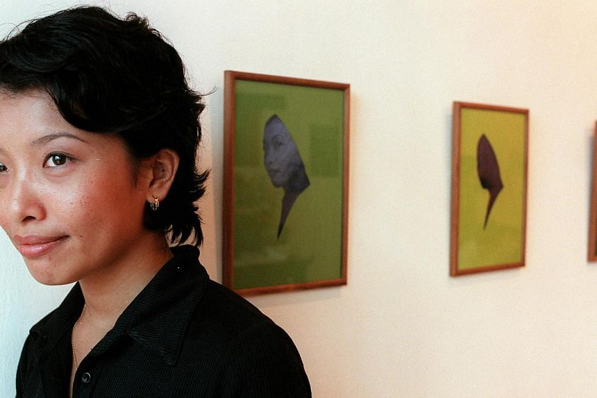 Her work has been featured in more than 60 exhibitions in Singapore and other countries such as Australia, Germany and Poland.-- PHOTO: ST FILE