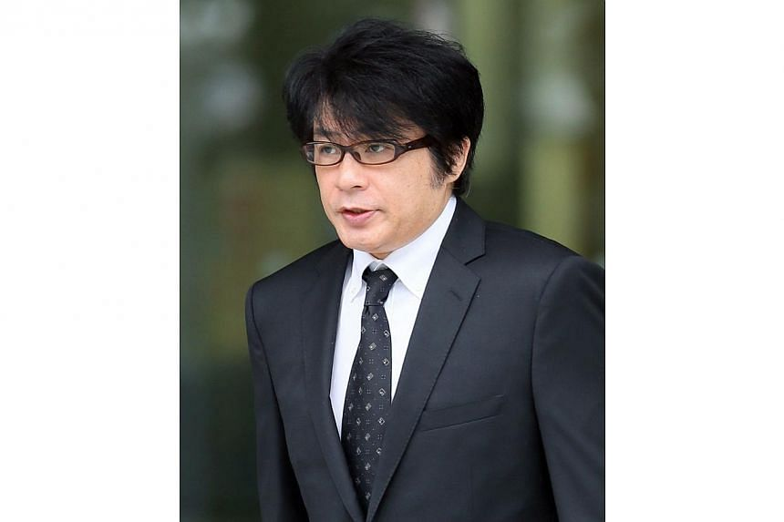 Japanese pop star Aska, of popular music duo Chage and Aska, on Thursday, Aug 28, 2014, pleaded guilty to drug charges after his arrest on May made headlines across the country. -- PHOTO: AFP