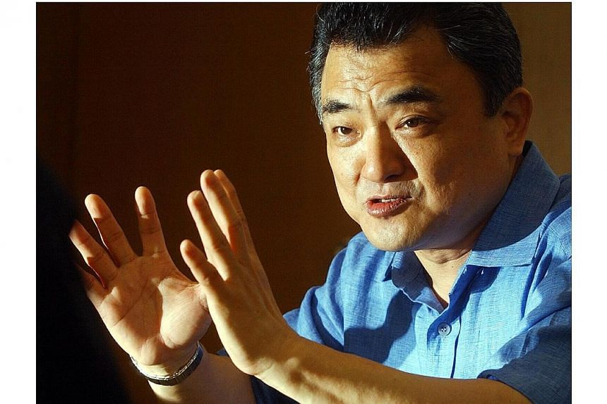 Wu Hsioh Kwang, chairman of Straco. -- PHOTO: BUSINESS TIMES FILE