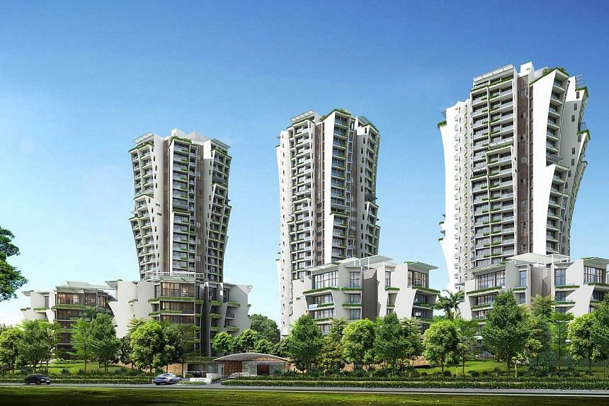 An artist's impression of The Crest condominium along Prince Charles Crescent, a joint venture led by Wing Tai.Wing Tai Holdings announced on Thursday, Aug 28, 2014, a disappointing year, with a cut in final dividends by half to six cents a sha