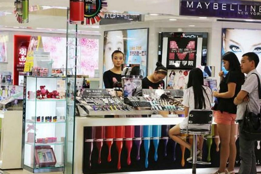 The average import duty of cosmetic-related products in China is 11.9 per cent, while that for apparel and bags is 15 per cent. There is also an extra consumption tax, ranging from 4 per cent to 45 per cent depending on the nature of the goods, while