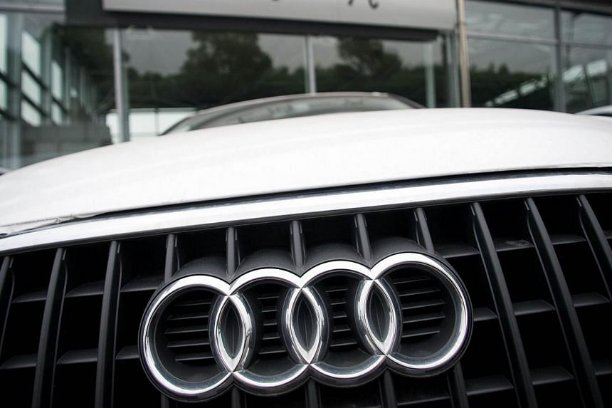 Audi, the top-of-the-range car maker belonging to auto giant Volkswagen, said on Friday it is recalling 70,000 cars worldwide owing to potential problems with braking systems. -- PHOTO: AFP