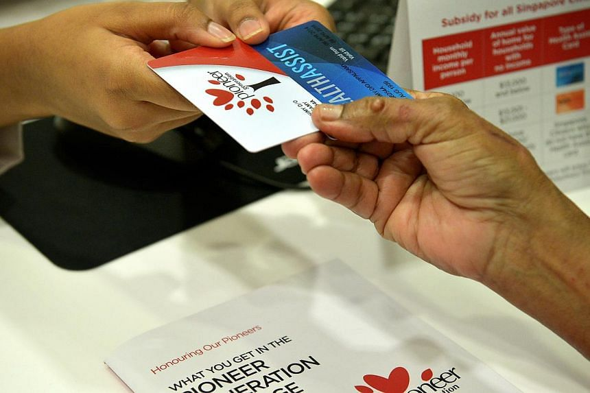 More than 1,200 people have made a last-minute appeal to be counted for the Pioneer Generation Package, even as those eligible received their cards this month. That is more than six times the 180 or so requests received as of two months ago. -- PHOTO